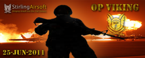 Op Viking - Stirling Airsoft Banner